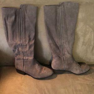 Shoes - Faux suede boots size 11